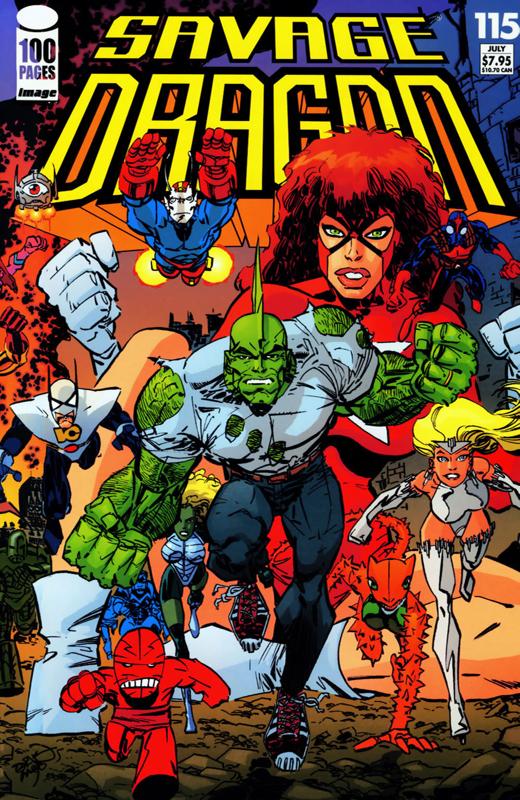 Cover Savage Dragon Vol.2 #115