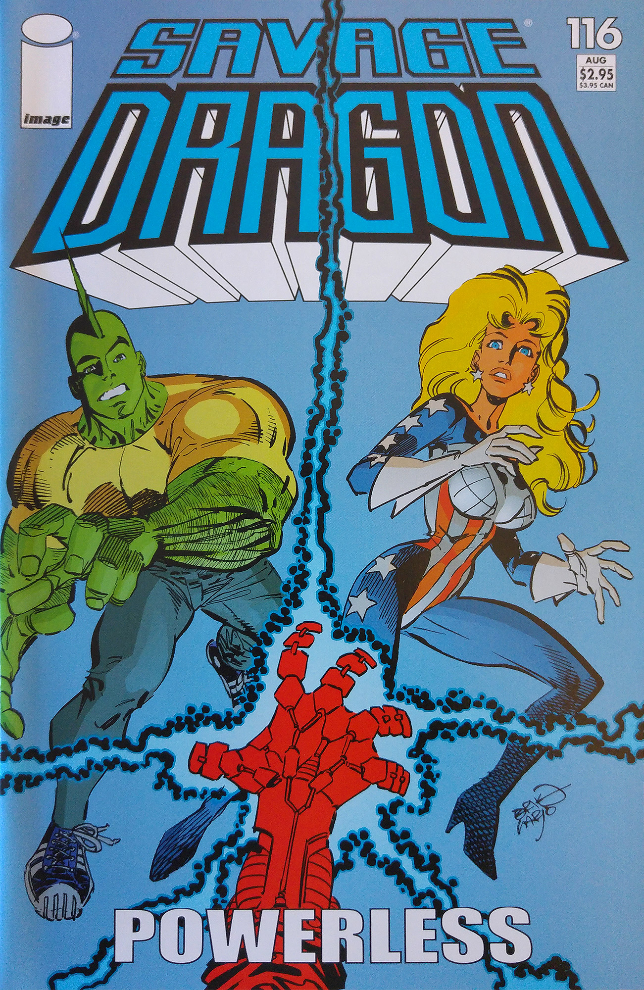 Cover Savage Dragon Vol.2 #116