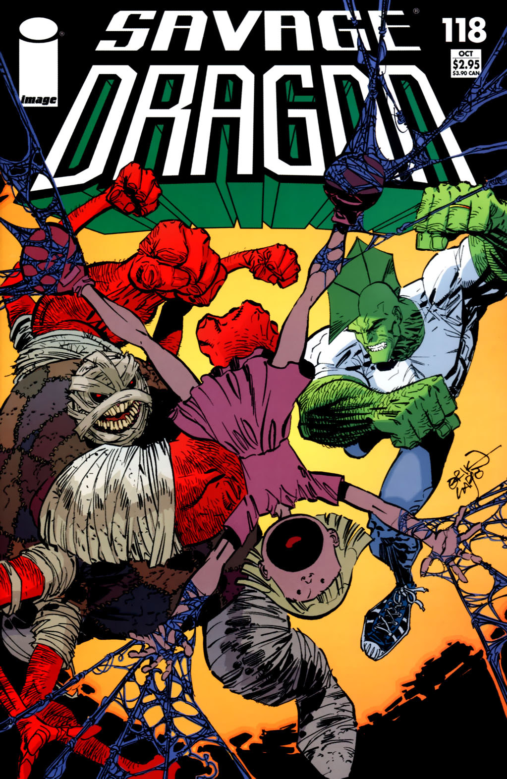 Cover Savage Dragon Vol.2 #118