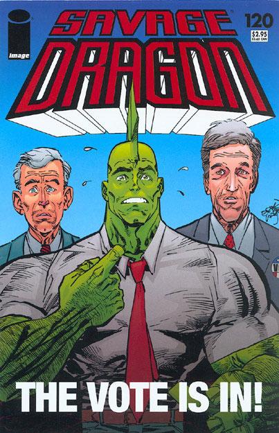 Cover Savage Dragon Vol.2 #120