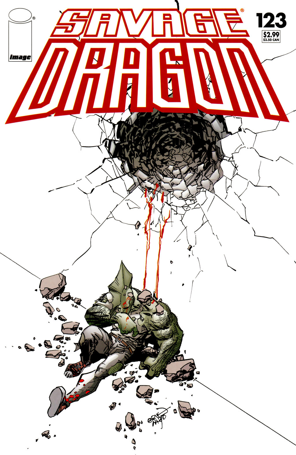 Cover Savage Dragon Vol.2 #123