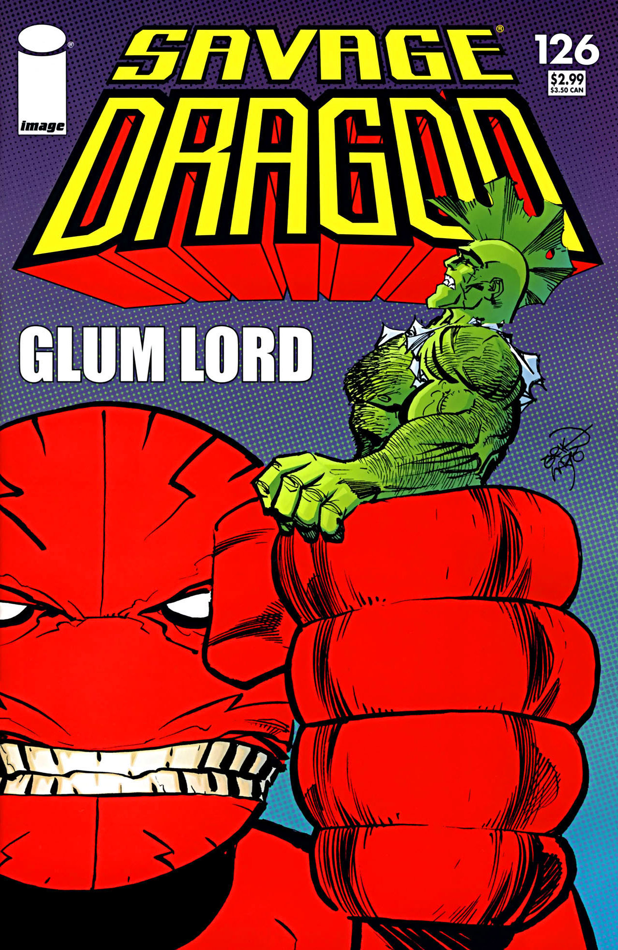 Cover Savage Dragon Vol.2 #126