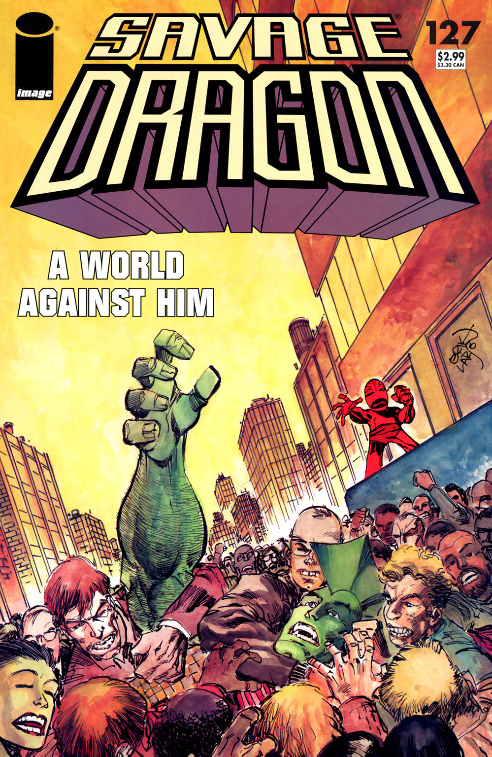 Cover Savage Dragon Vol.2 #127