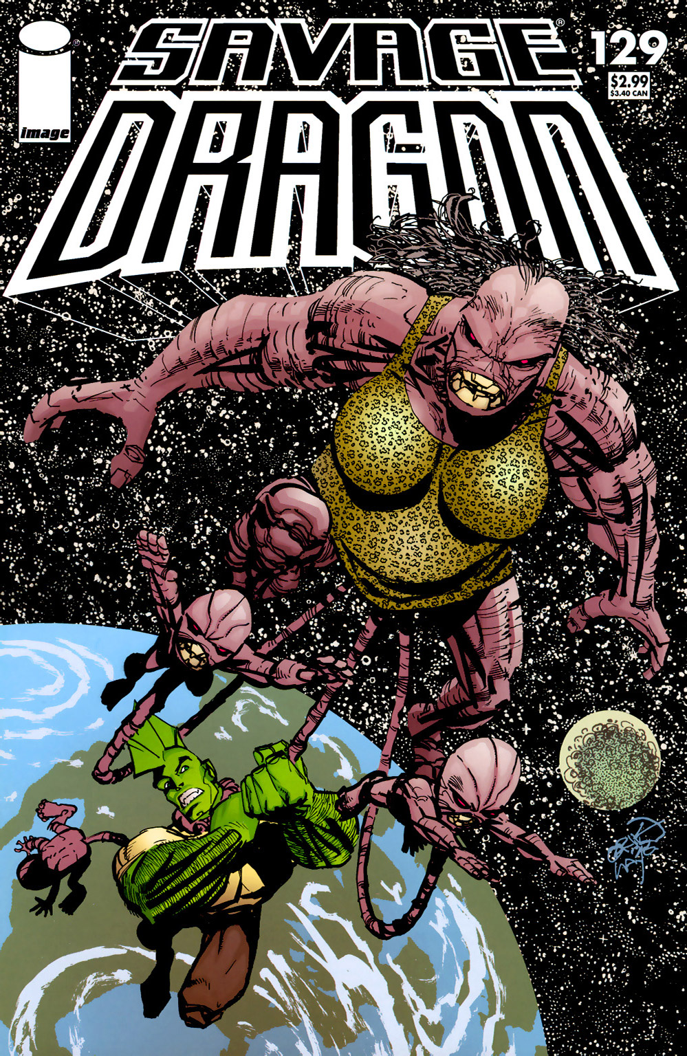 Cover Savage Dragon Vol.2 #129