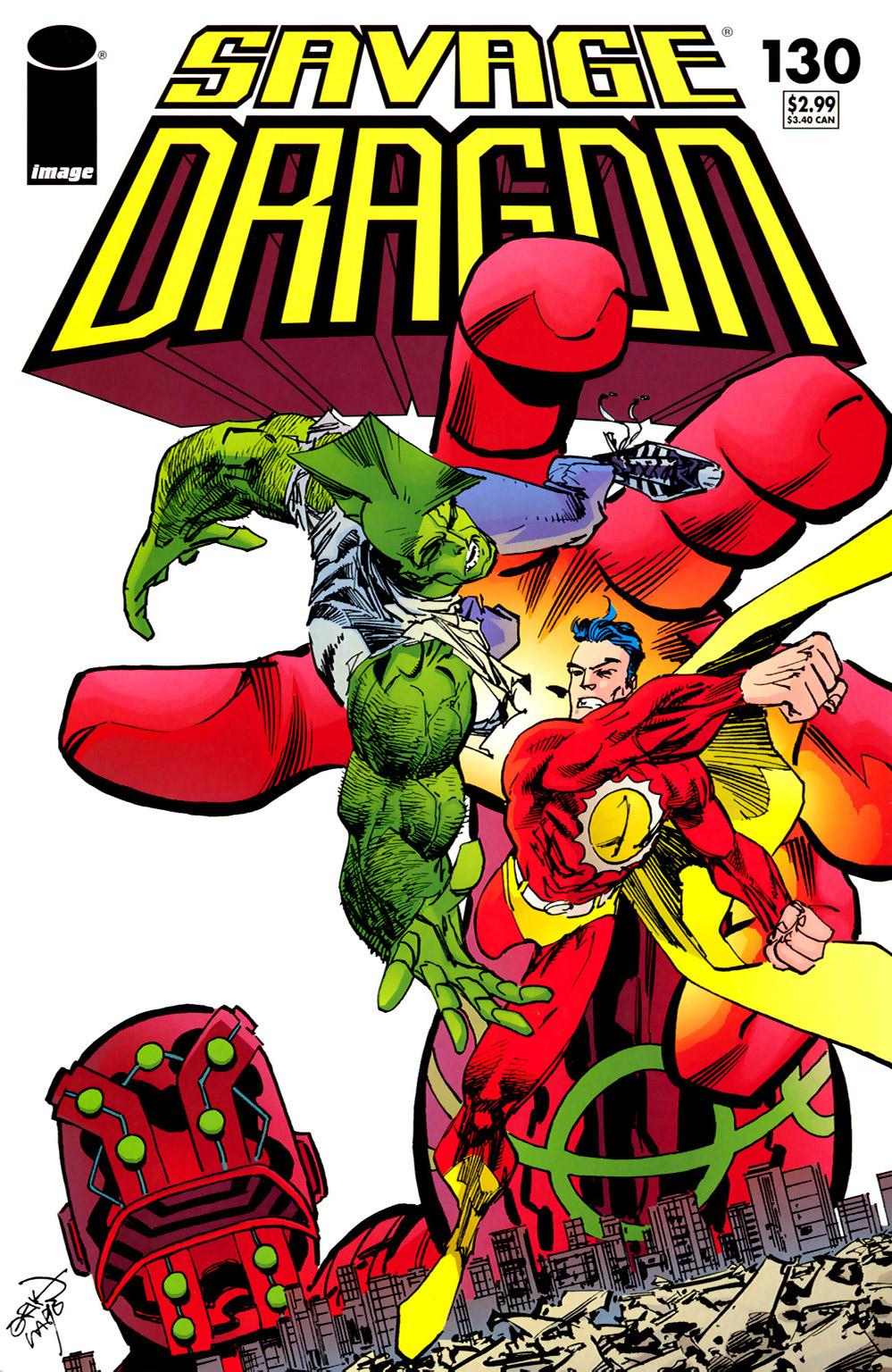 Cover Savage Dragon Vol.2 #130
