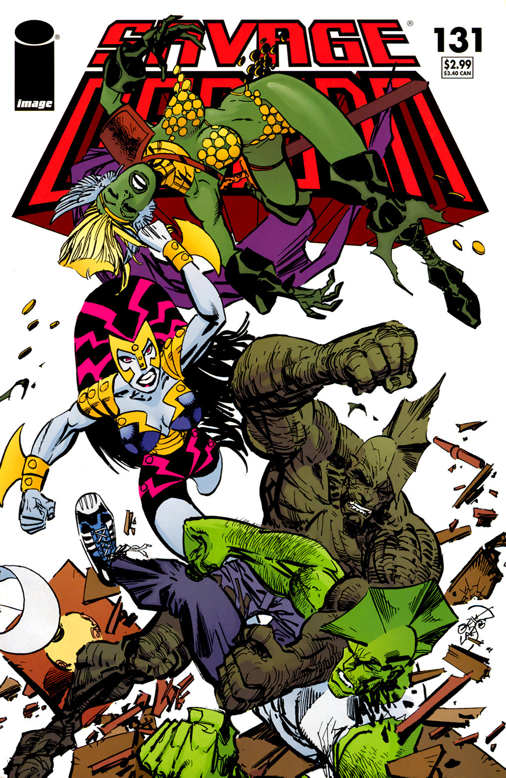 Cover Savage Dragon Vol.2 #131