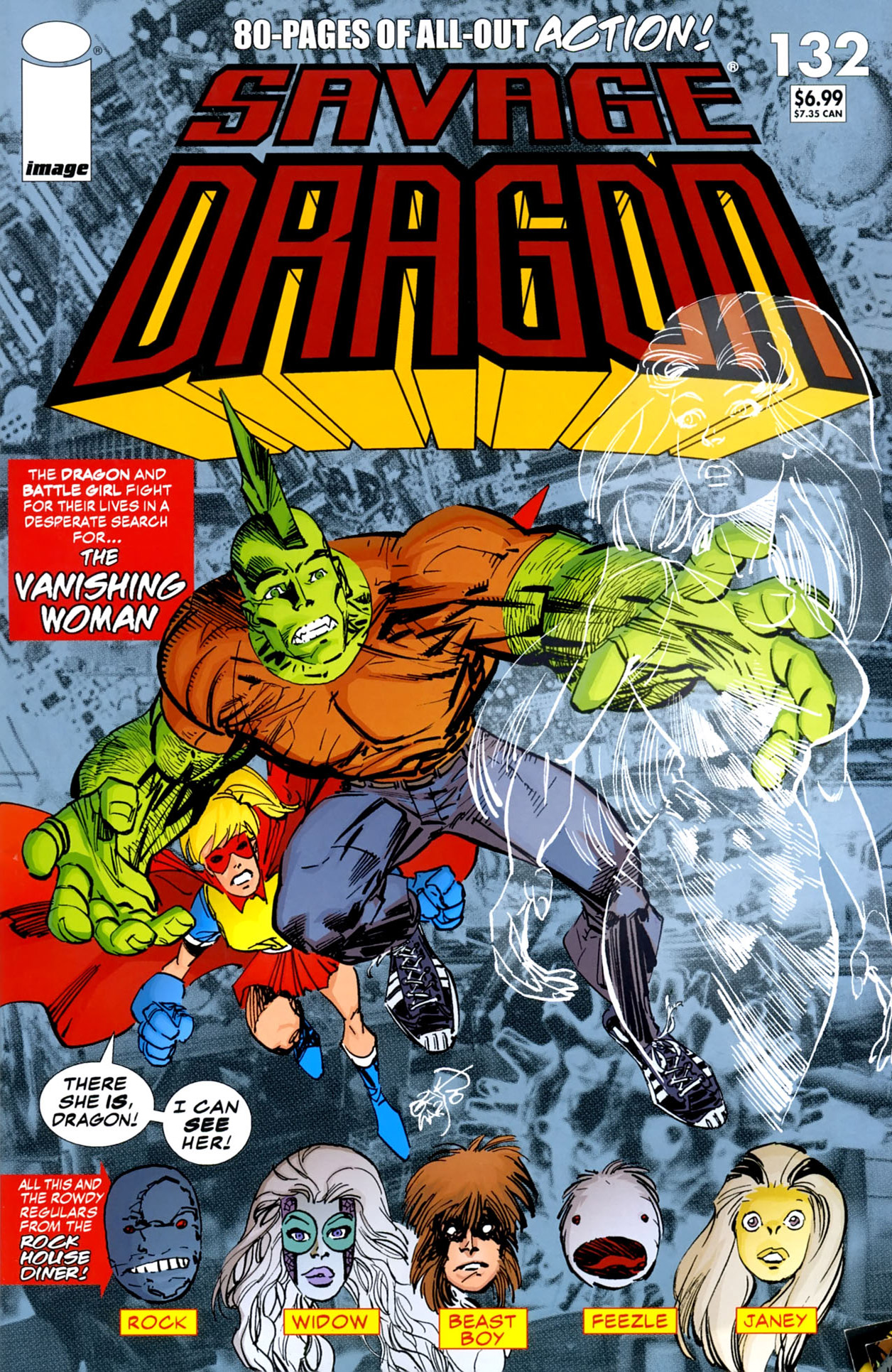 Cover Savage Dragon Vol.2 #132