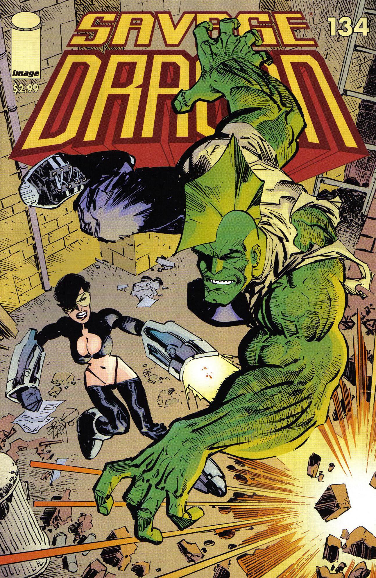 Cover Savage Dragon Vol.2 #134