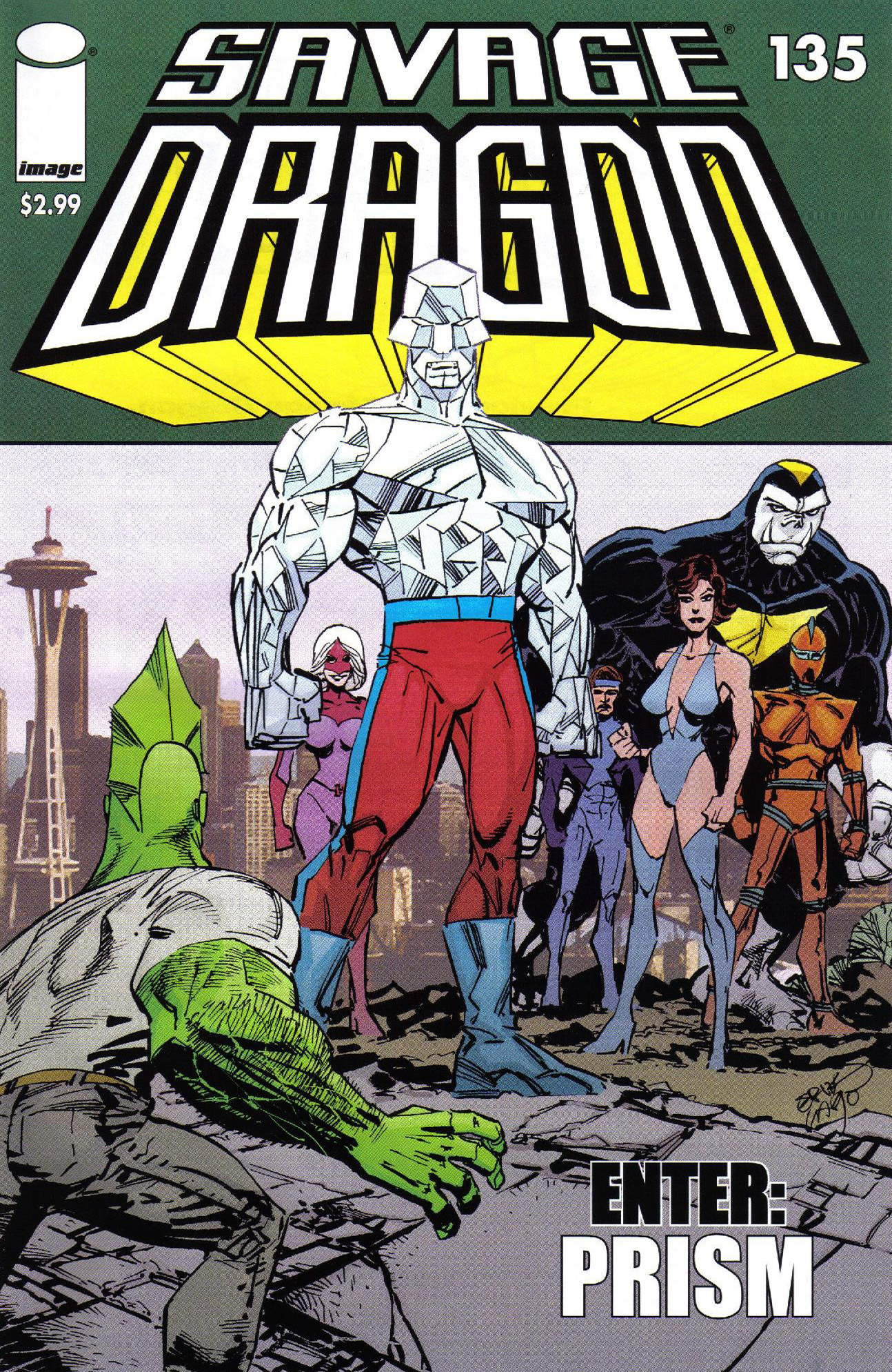 Cover Savage Dragon Vol.2 #135
