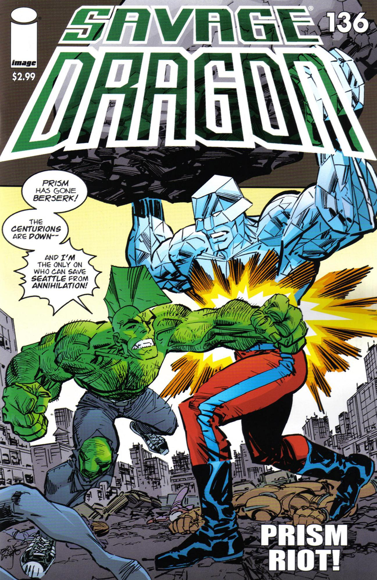 Cover Savage Dragon Vol.2 #136