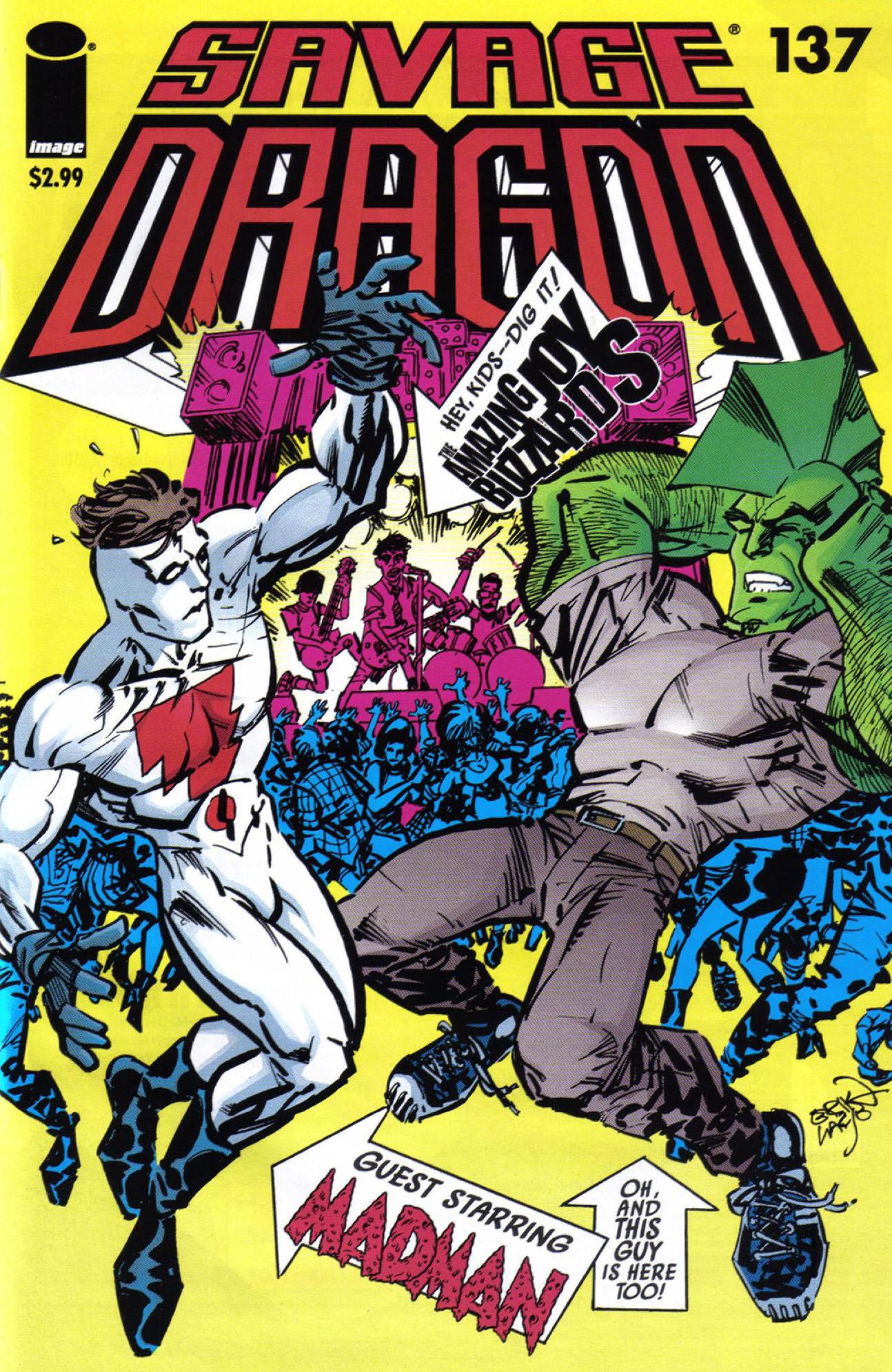 Cover Savage Dragon Vol.2 #137