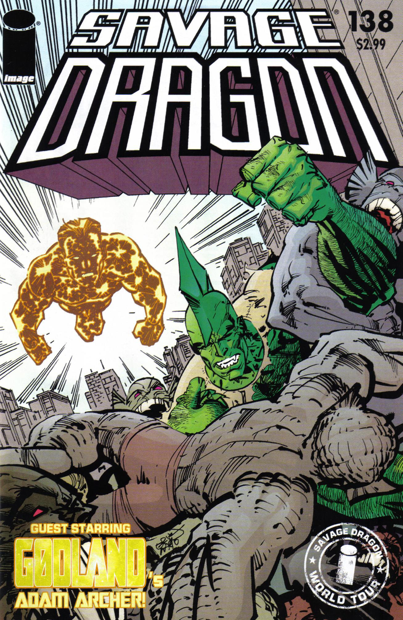 Cover Savage Dragon Vol.2 #138