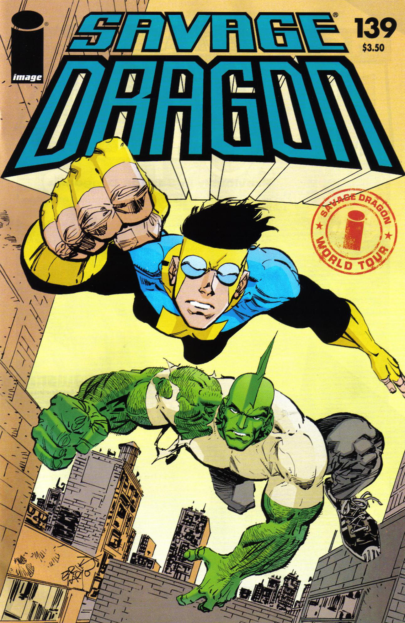 Cover Savage Dragon Vol.2 #139