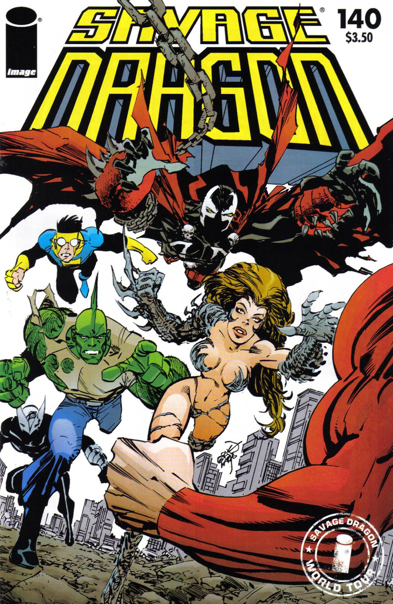 Cover Savage Dragon Vol.2 #140