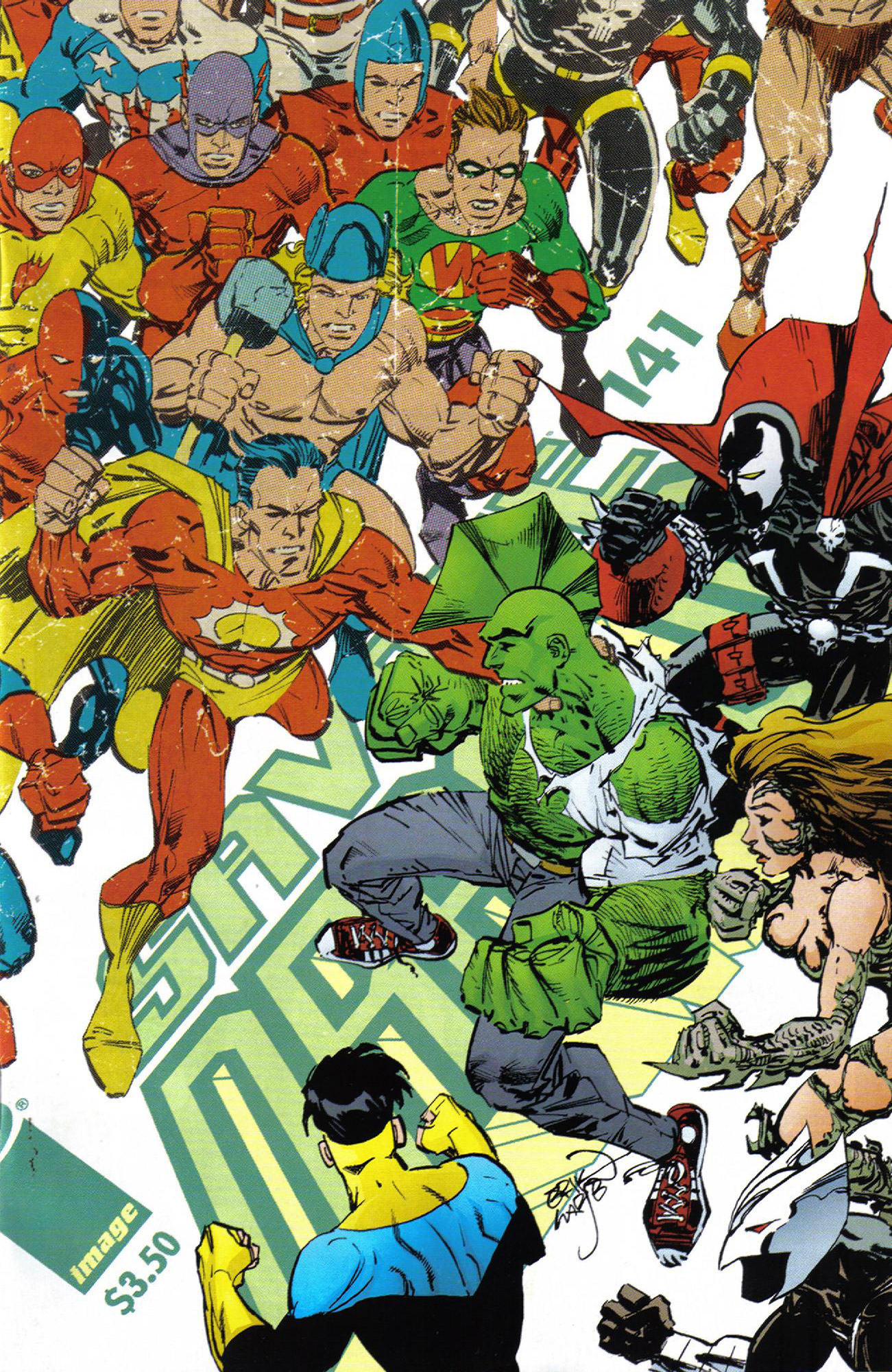 Cover Savage Dragon Vol.2 #141