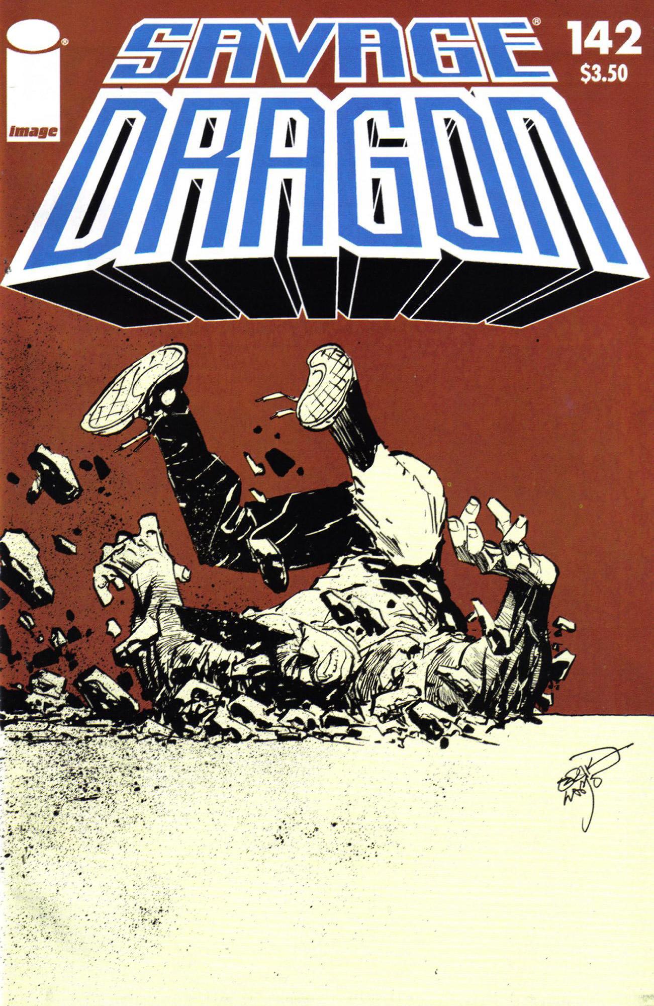 Cover Savage Dragon Vol.2 #142