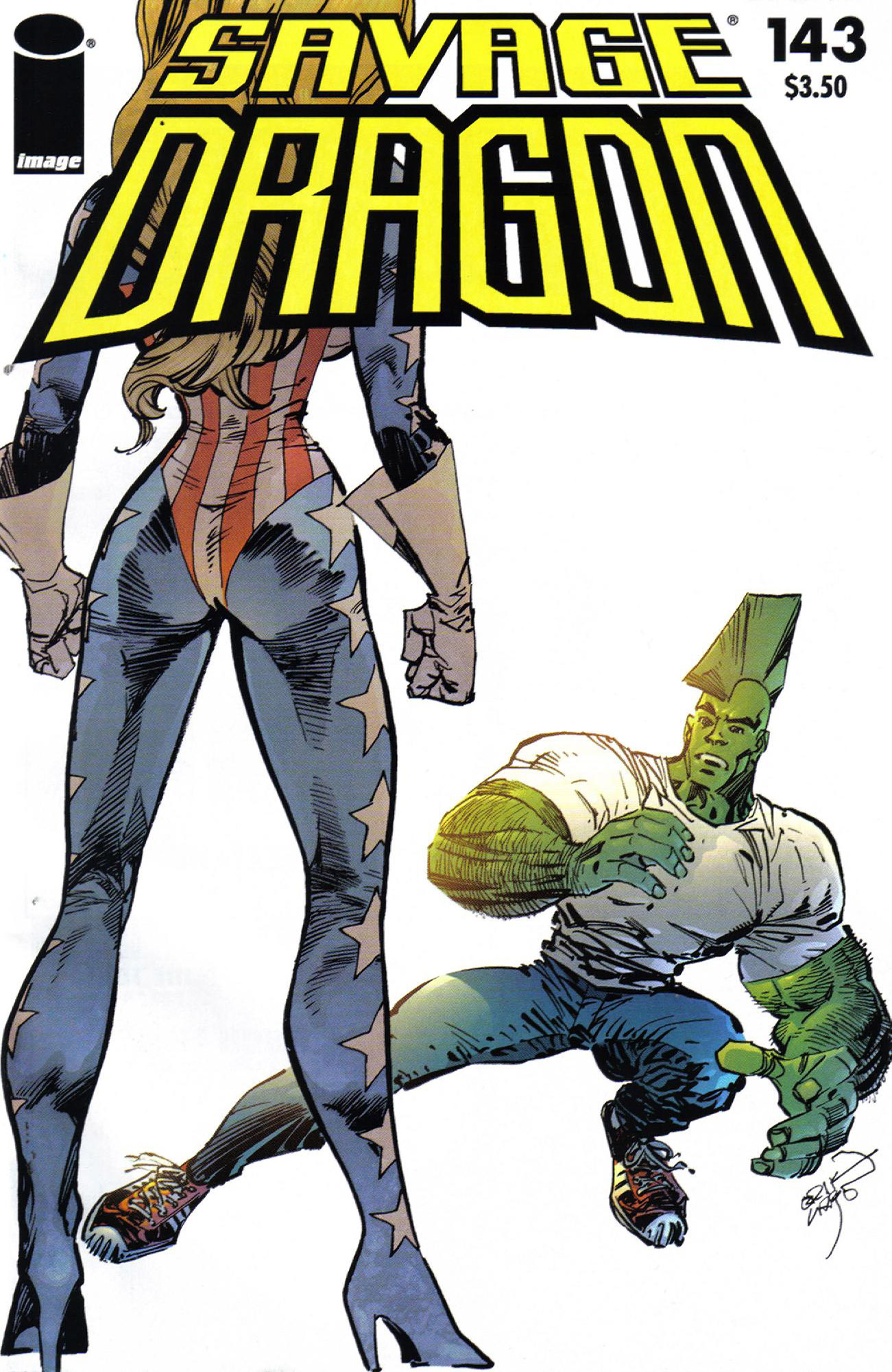 Cover Savage Dragon Vol.2 #143