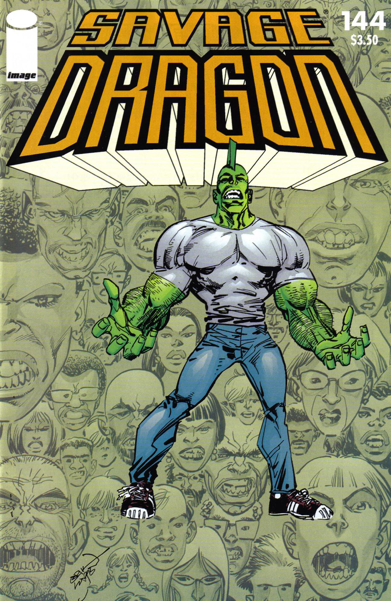 Cover Savage Dragon Vol.2 #144