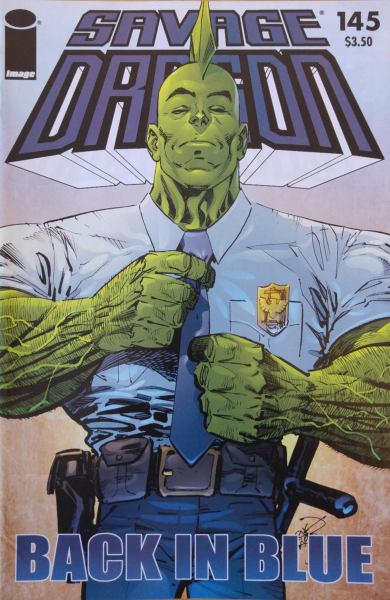 Cover Savage Dragon Vol.2 #145