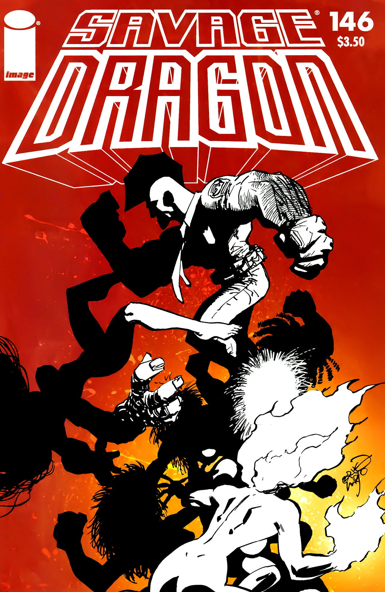 Cover Savage Dragon Vol.2 #146
