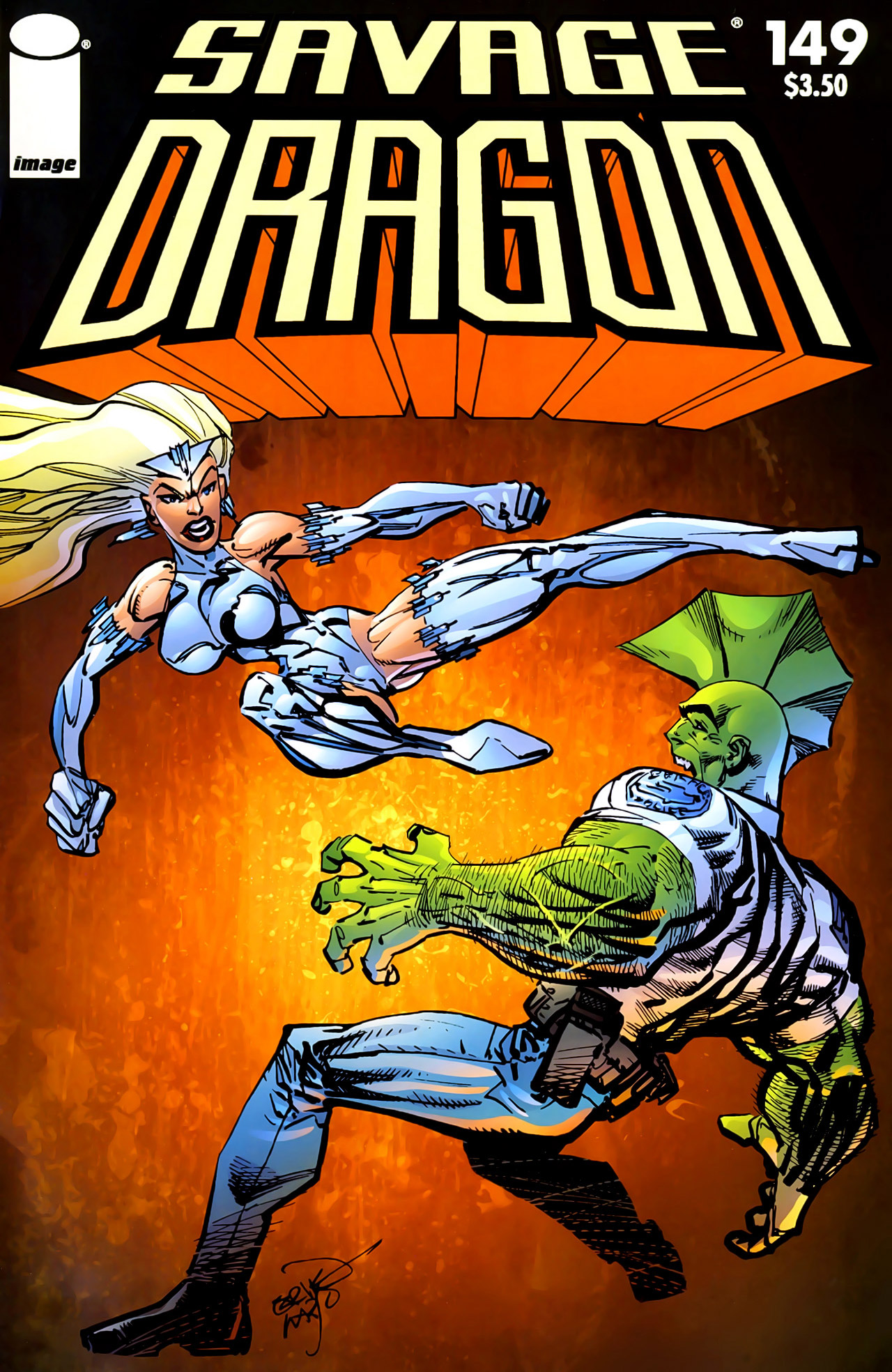 Cover Savage Dragon Vol.2 #149