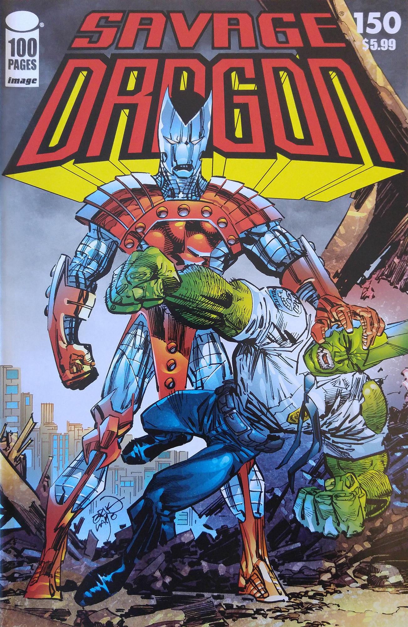 Cover Savage Dragon Vol.2 #150