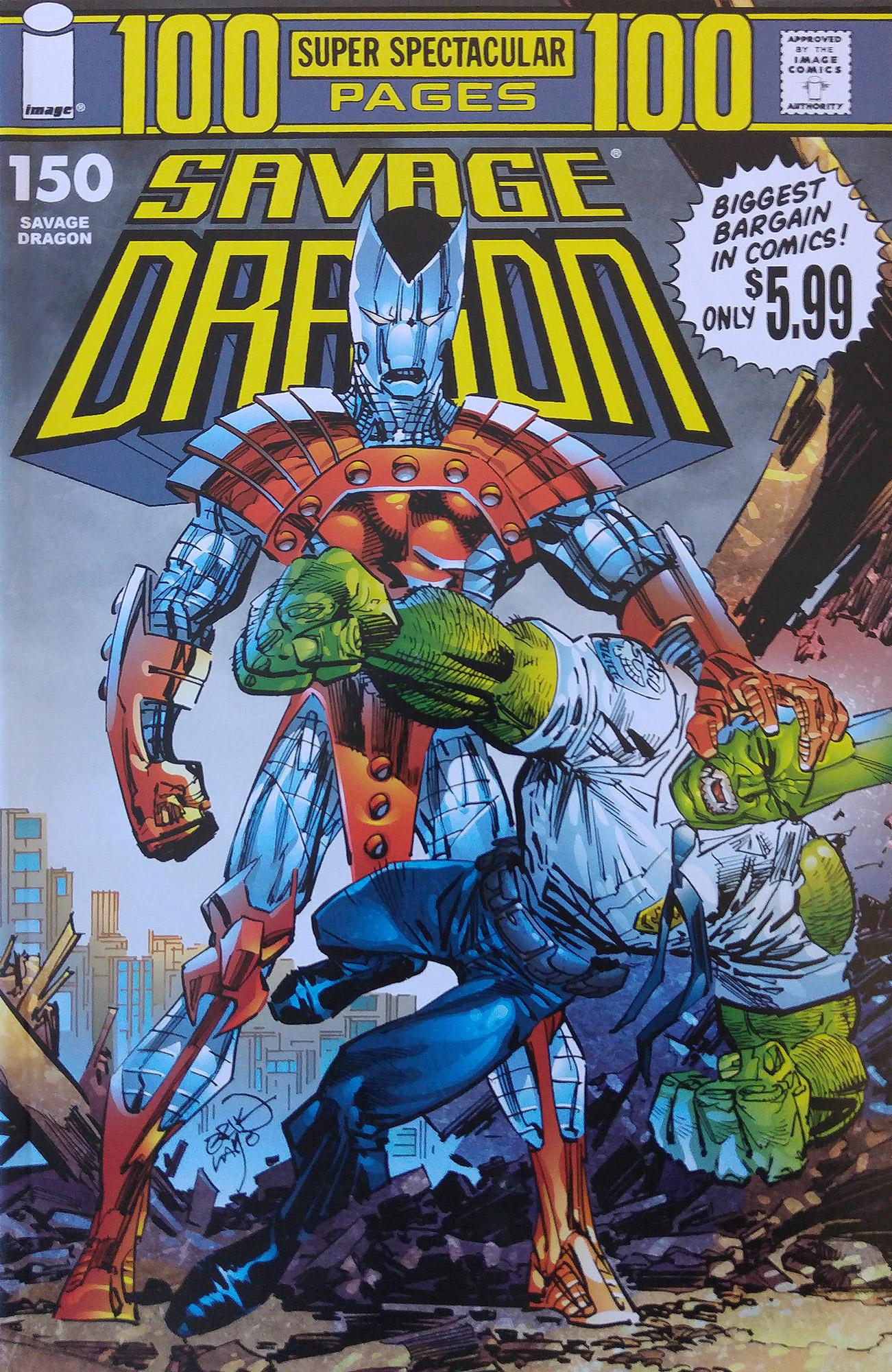 Cover Savage Dragon Vol.2 #150 Variant
