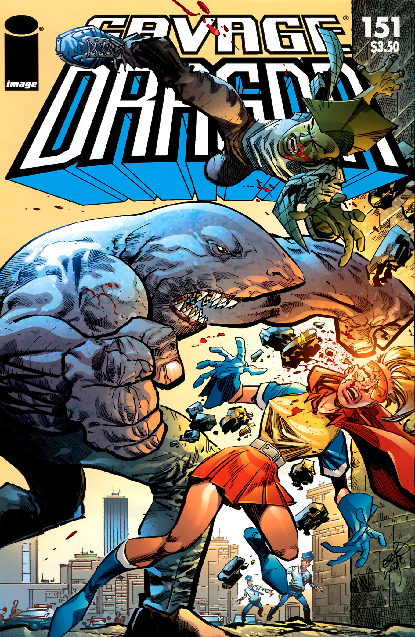 Cover Savage Dragon Vol.2 #151