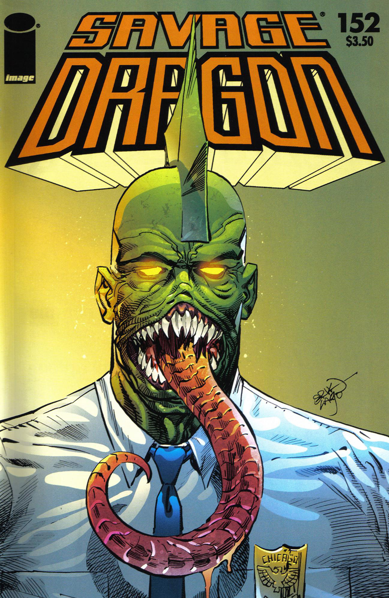 Cover Savage Dragon Vol.2 #152