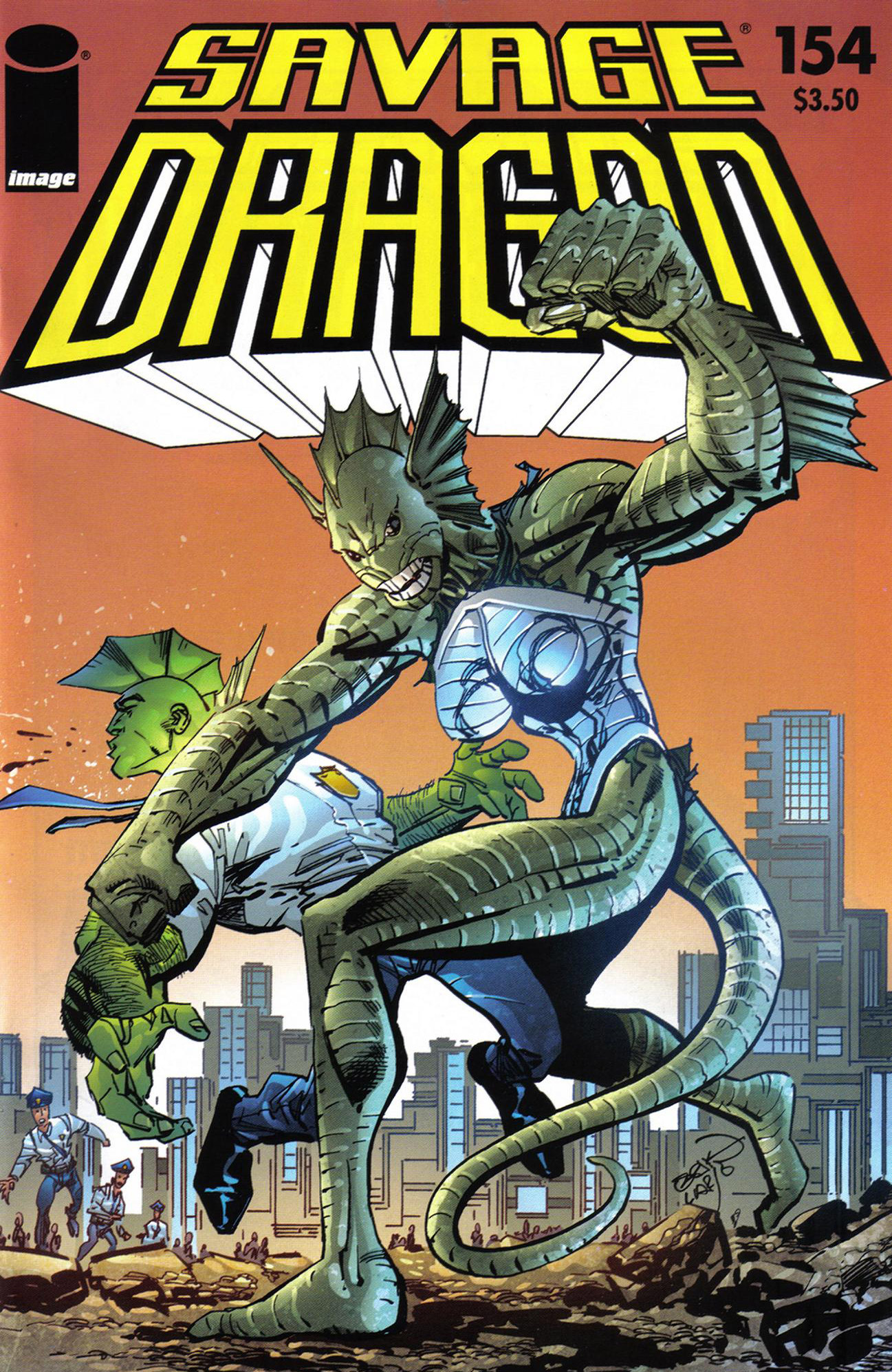 Cover Savage Dragon Vol.2 #154