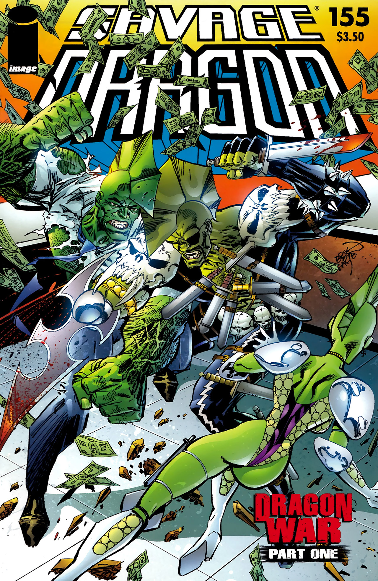 Cover Savage Dragon Vol.2 #155