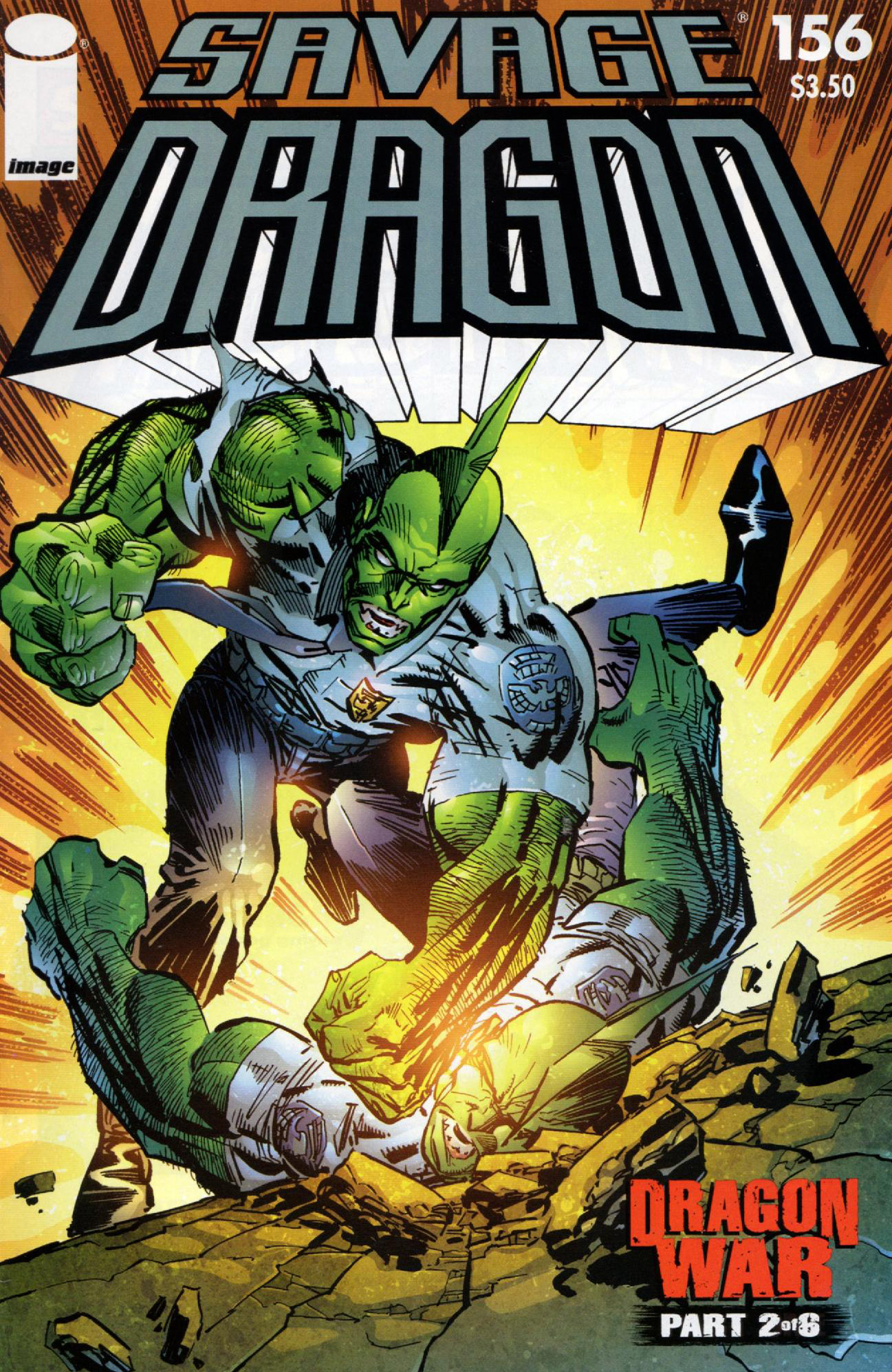 Cover Savage Dragon Vol.2 #156