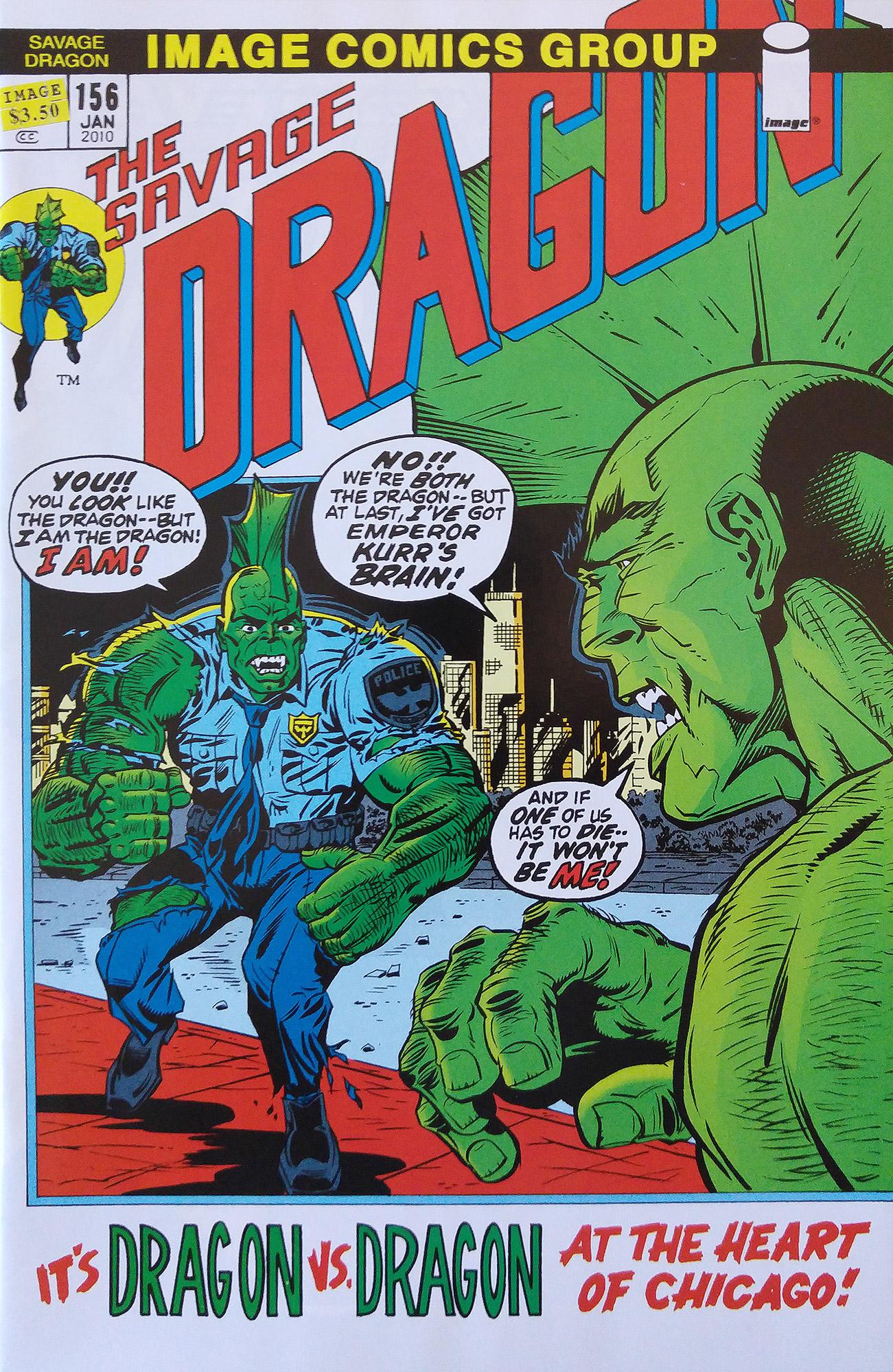 Cover Savage Dragon Vol.2 #156 Variant