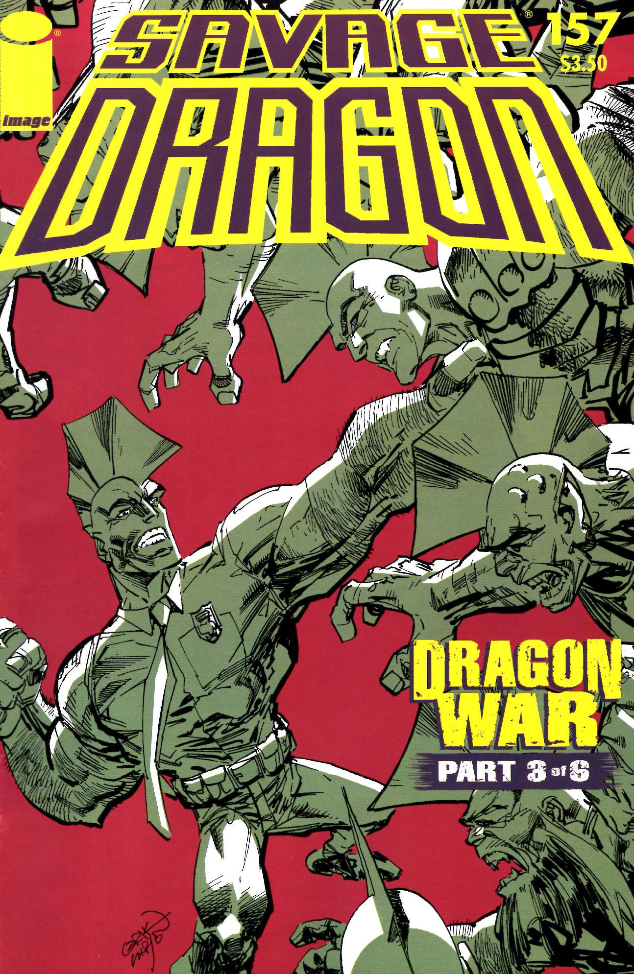 Cover Savage Dragon Vol.2 #157