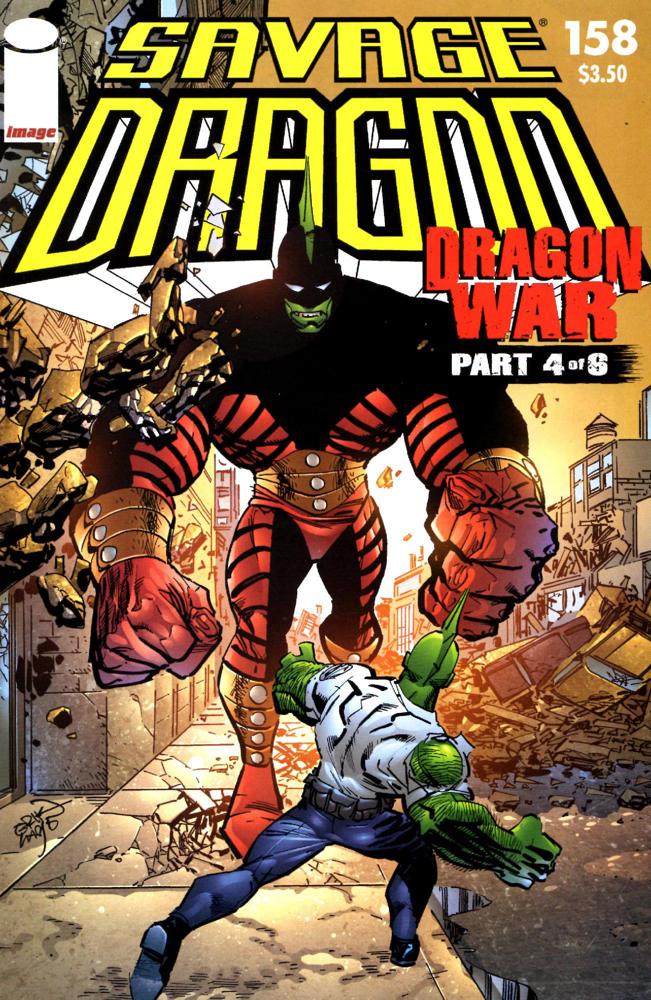 Cover Savage Dragon Vol.2 #158
