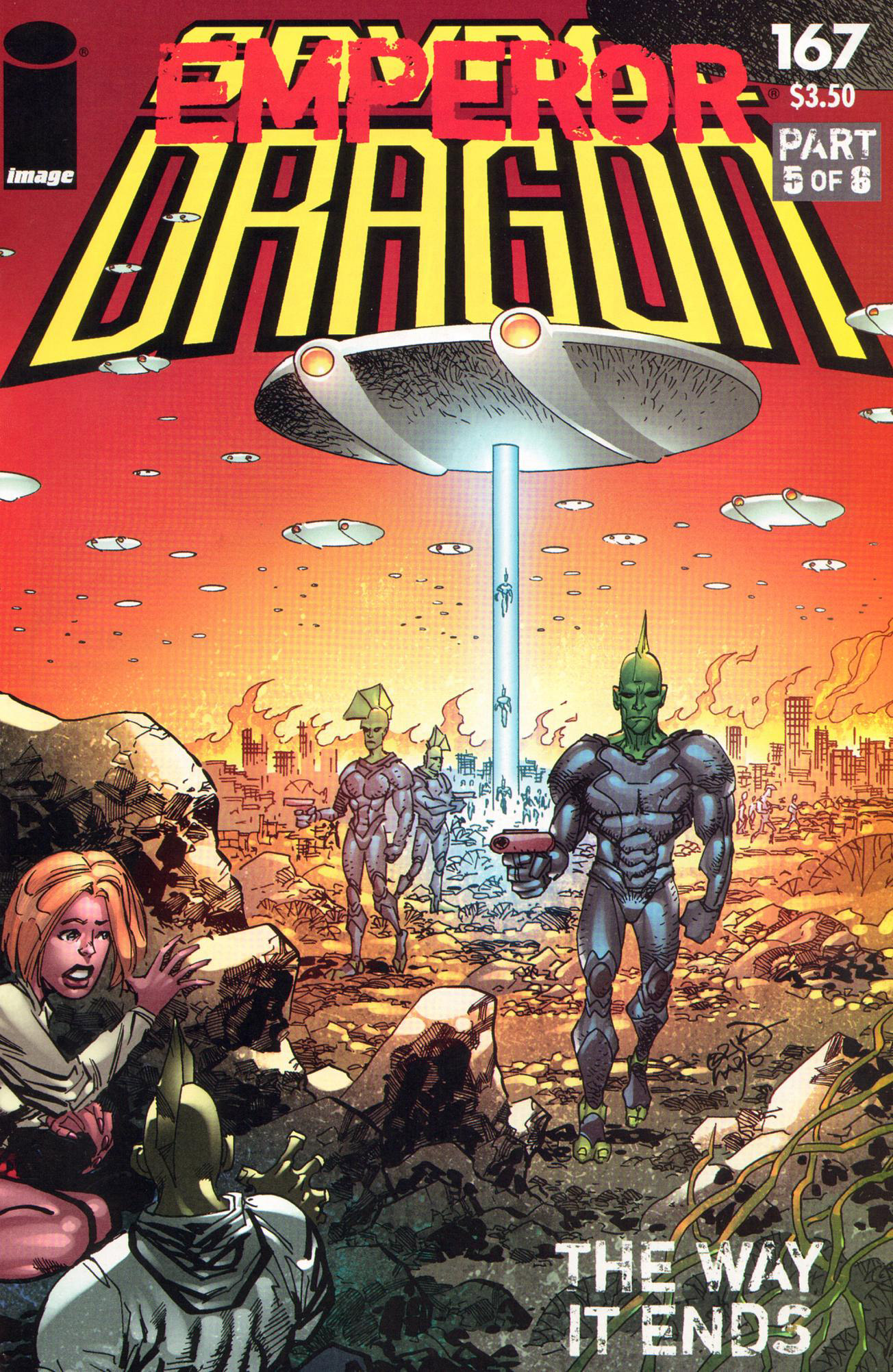 Cover Savage Dragon Vol.2 #167
