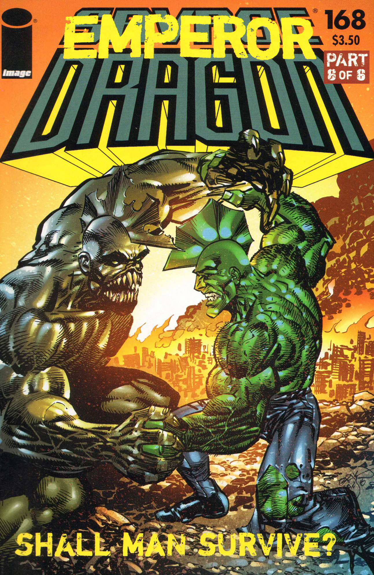 Cover Savage Dragon Vol.2 #168