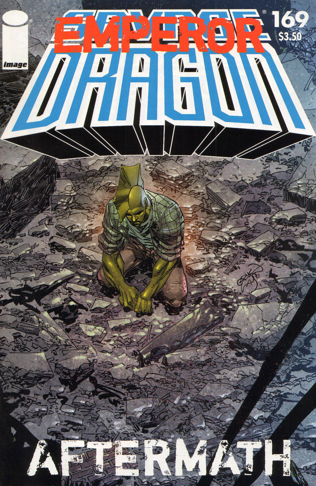 Cover Savage Dragon Vol.2 #169