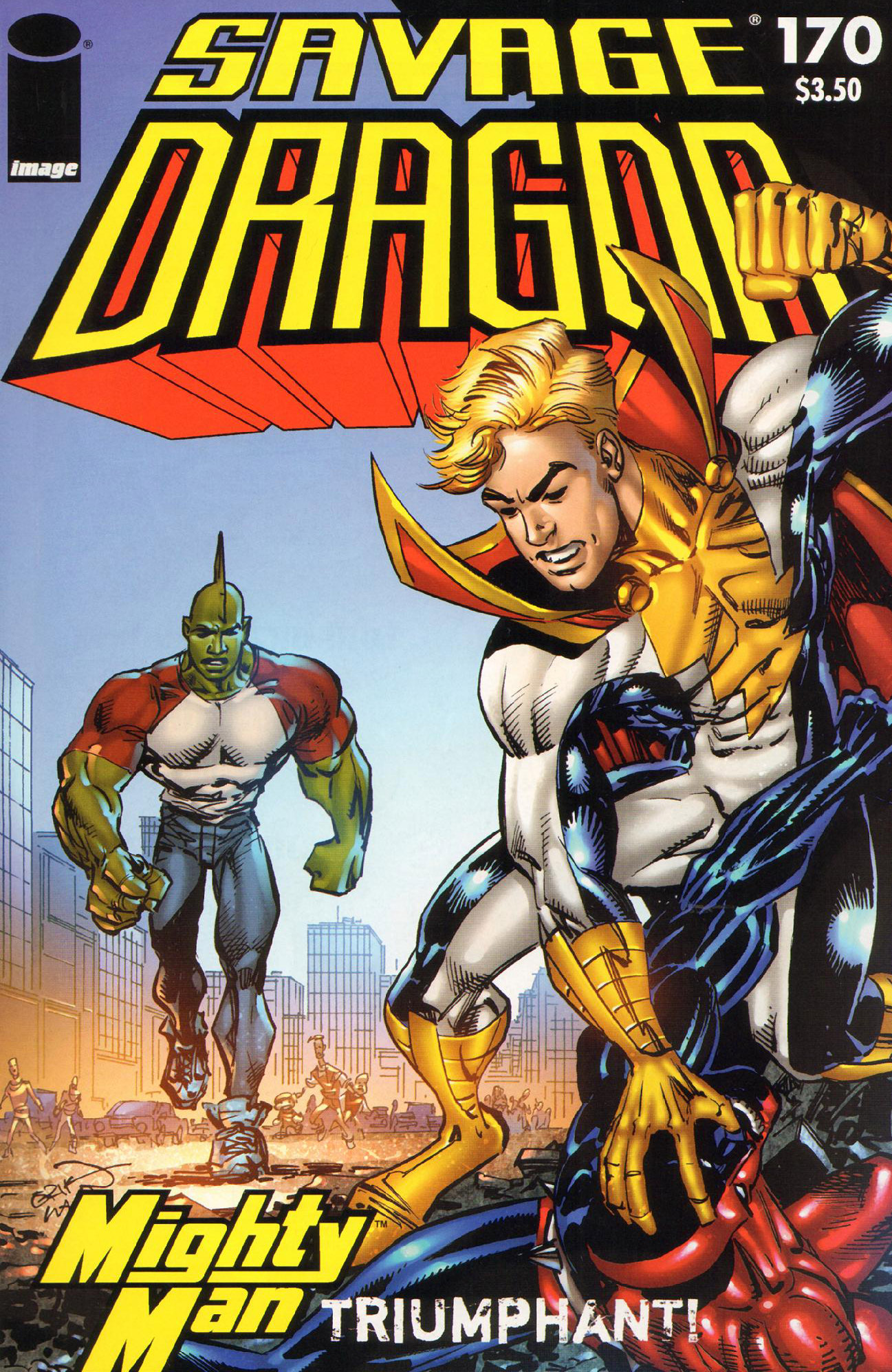 Cover Savage Dragon Vol.2 #170