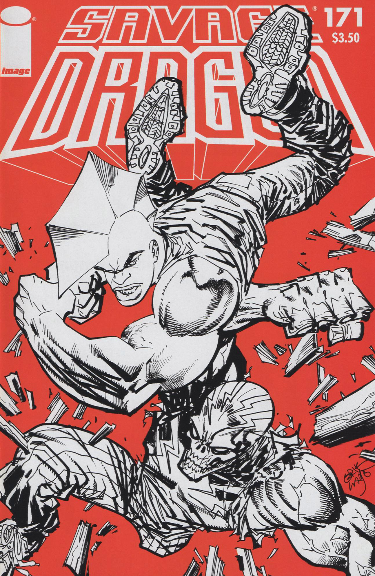 Cover Savage Dragon Vol.2 #171