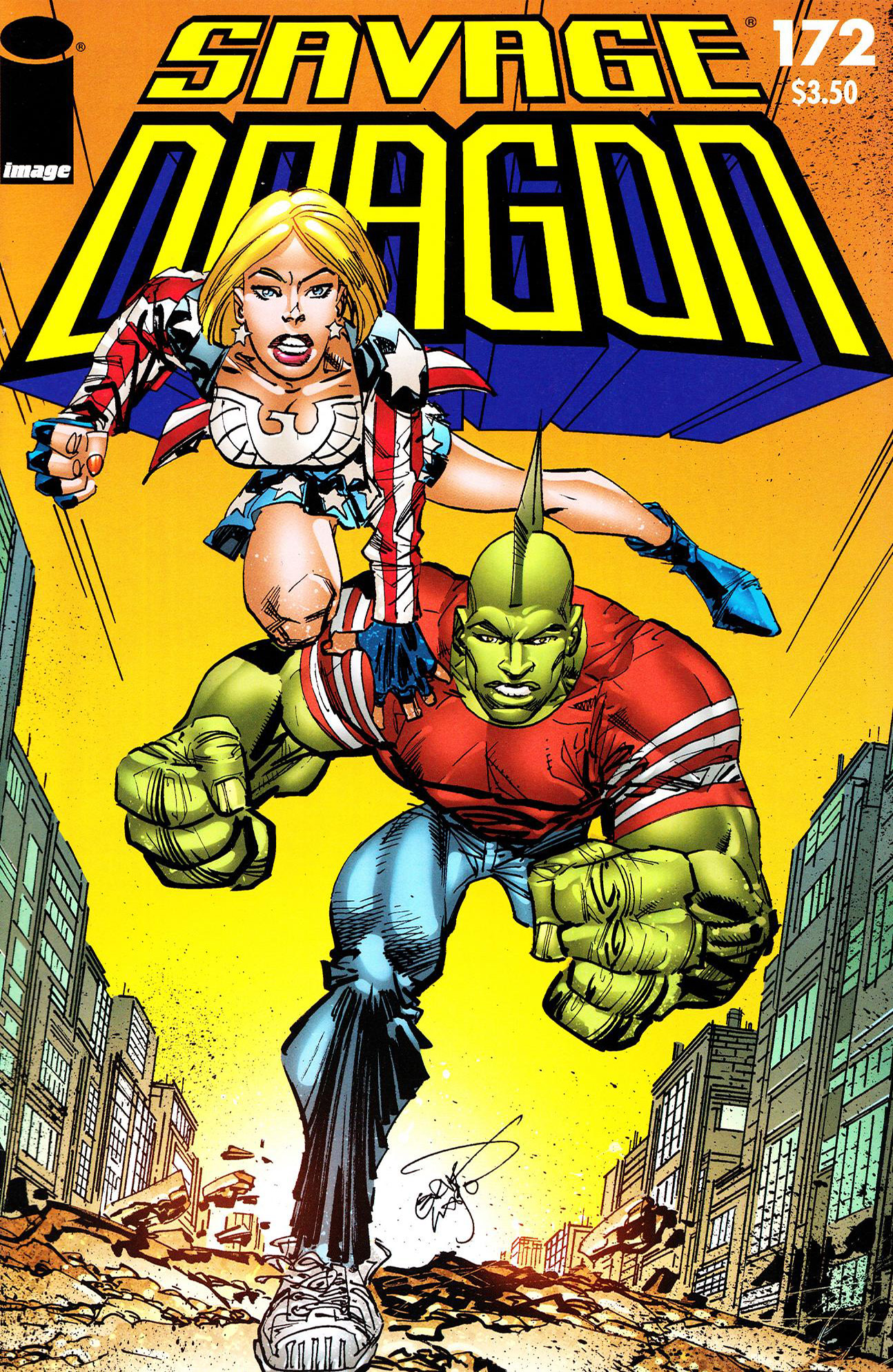 Cover Savage Dragon Vol.2 #172