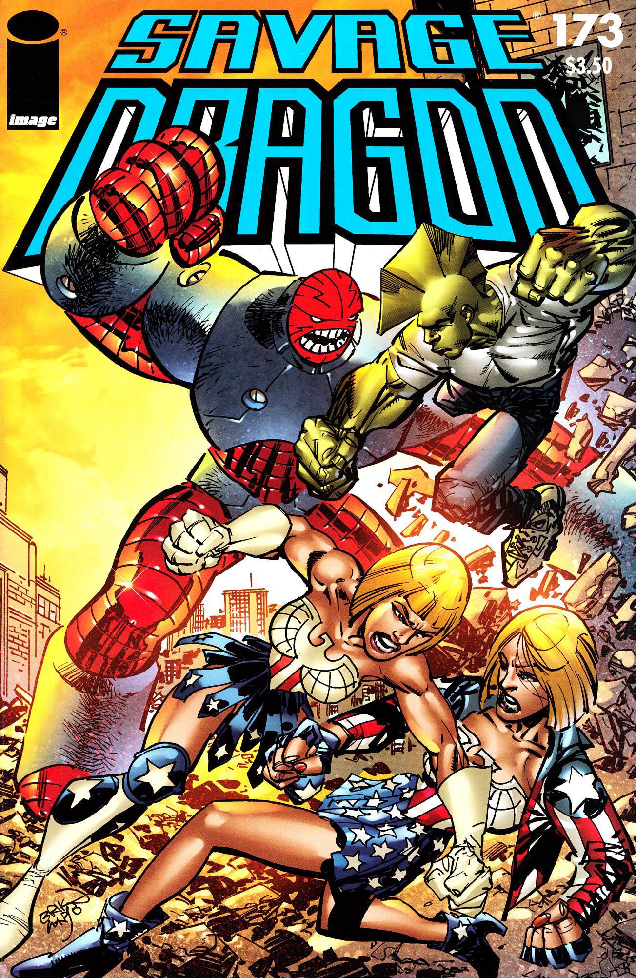 Cover Savage Dragon Vol.2 #173