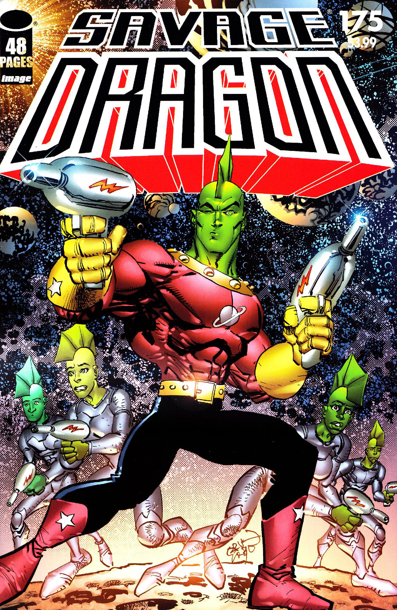 Cover Savage Dragon Vol.2 #175