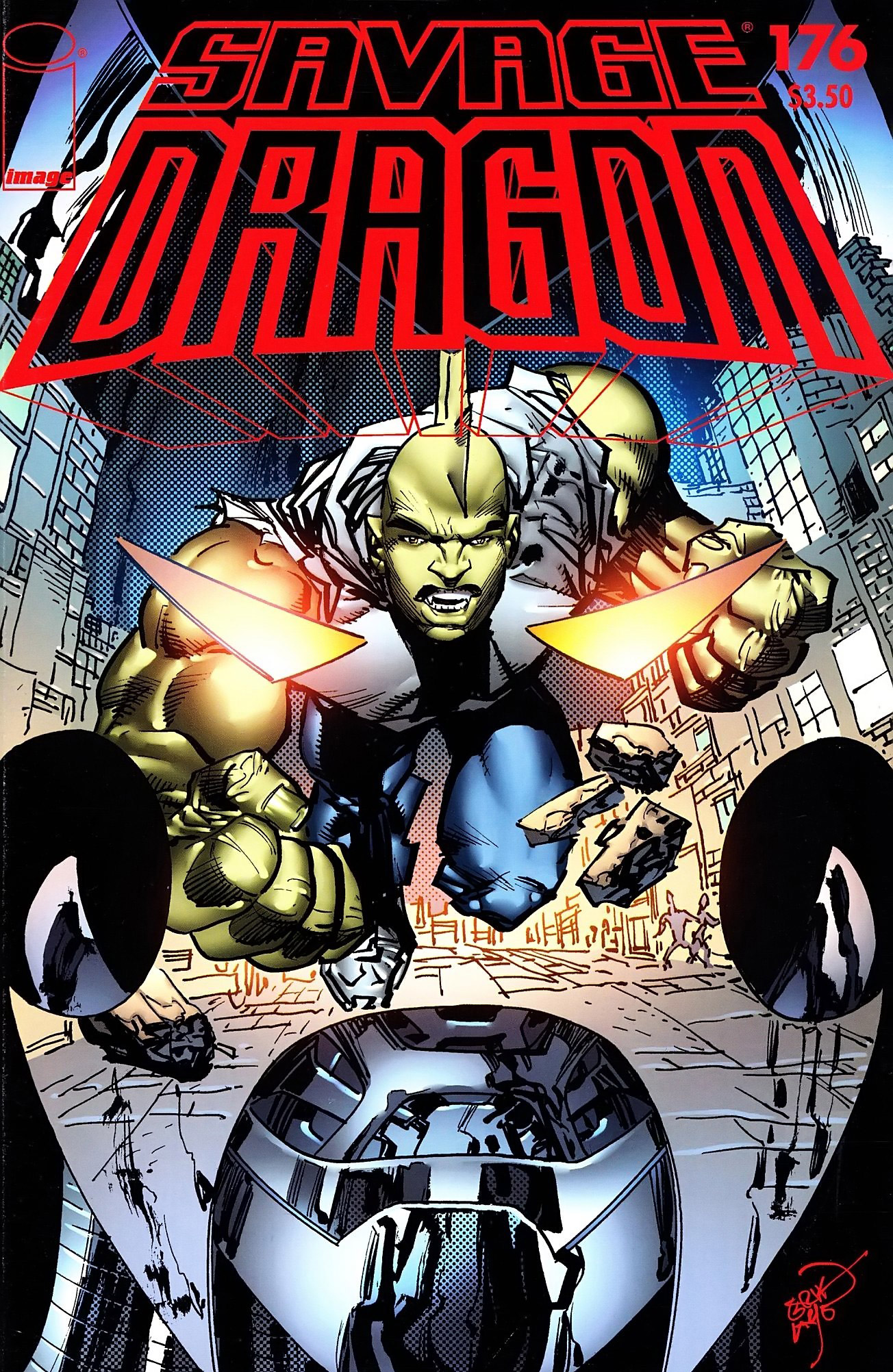 Cover Savage Dragon Vol.2 #176