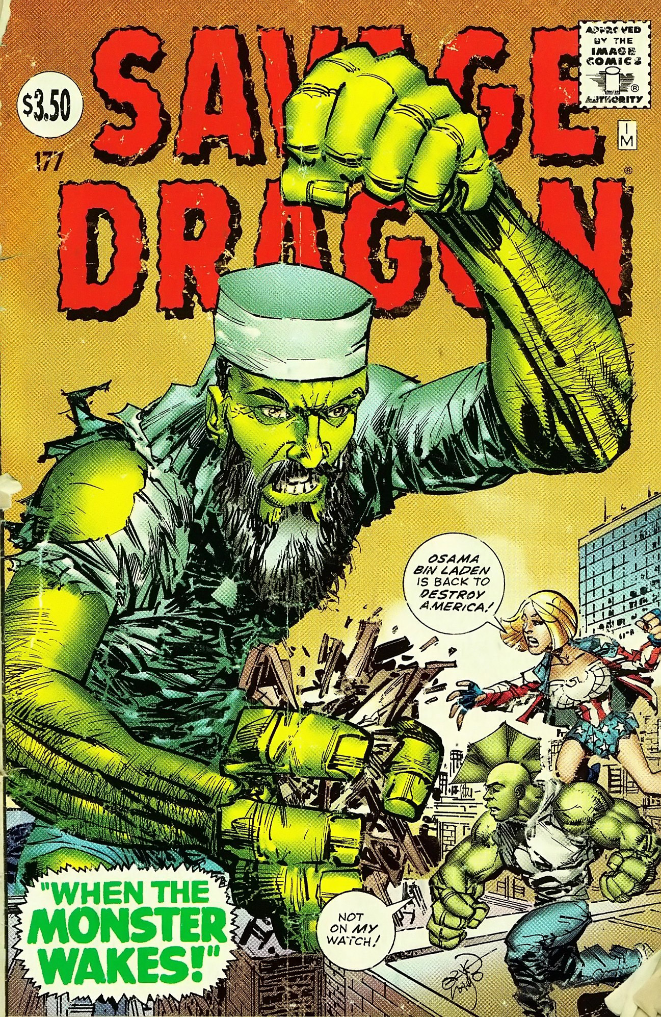 Cover Savage Dragon Vol.2 #177