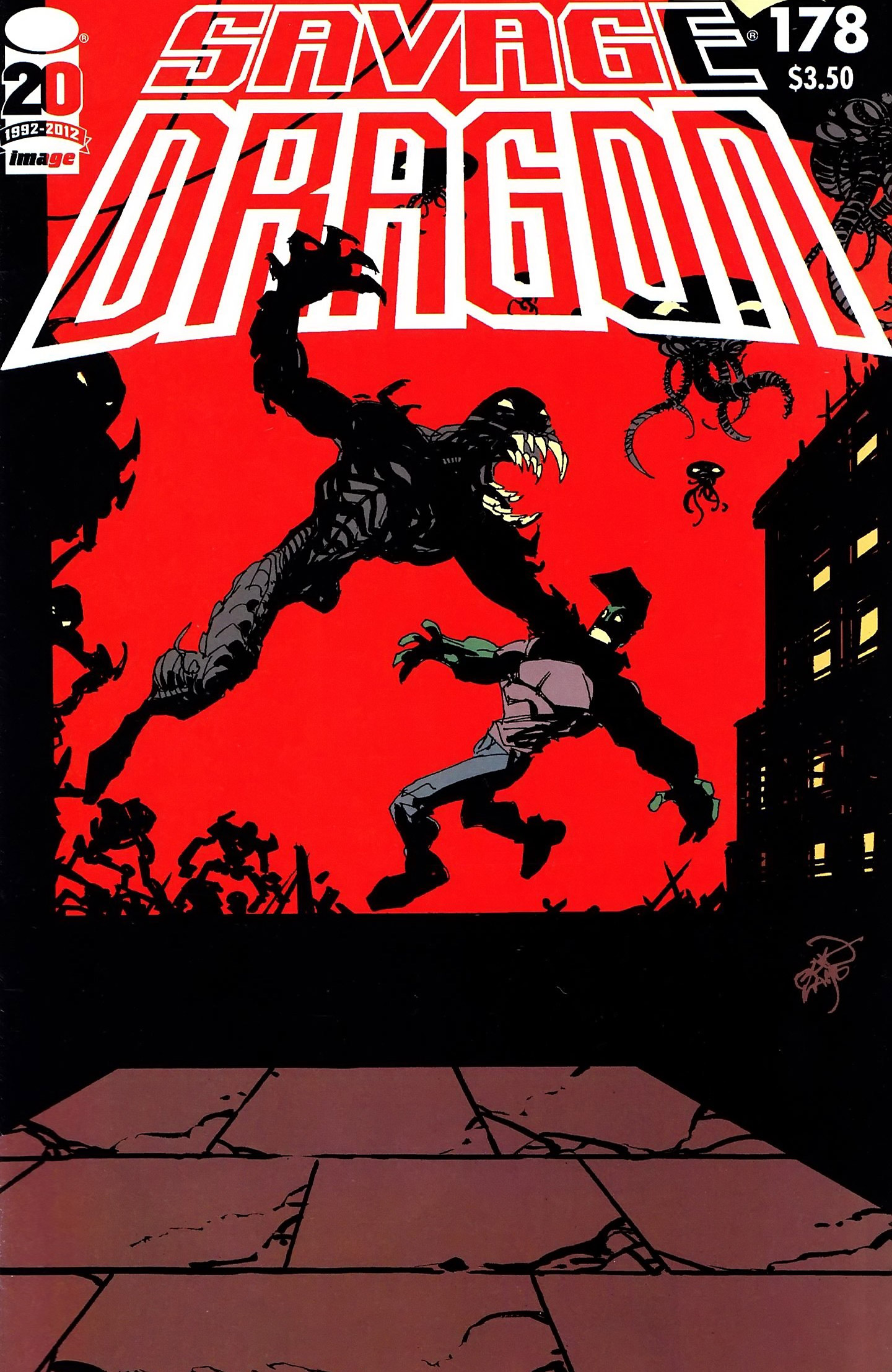 Cover Savage Dragon Vol.2 #178