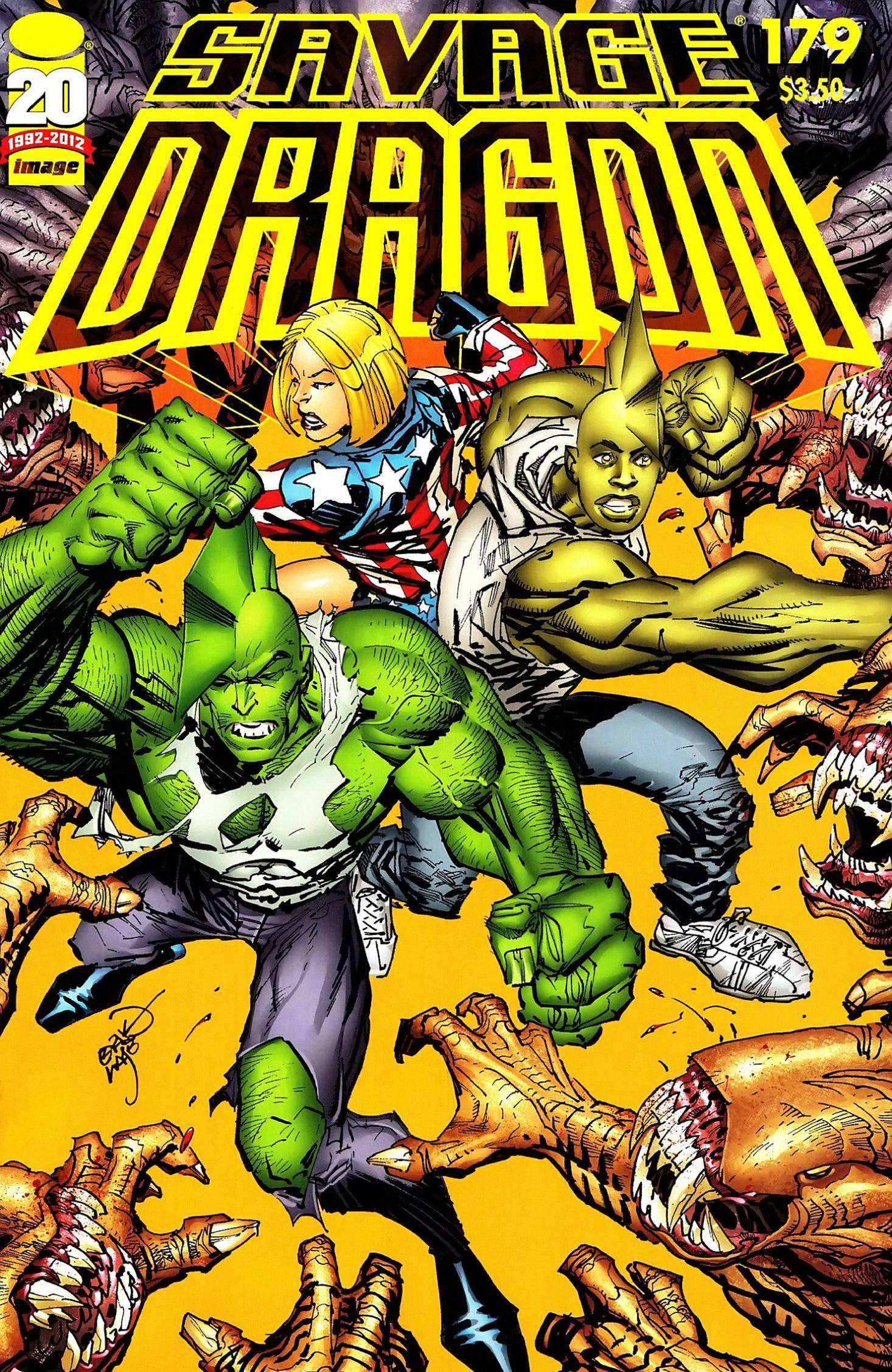 Cover Savage Dragon Vol.2 #179