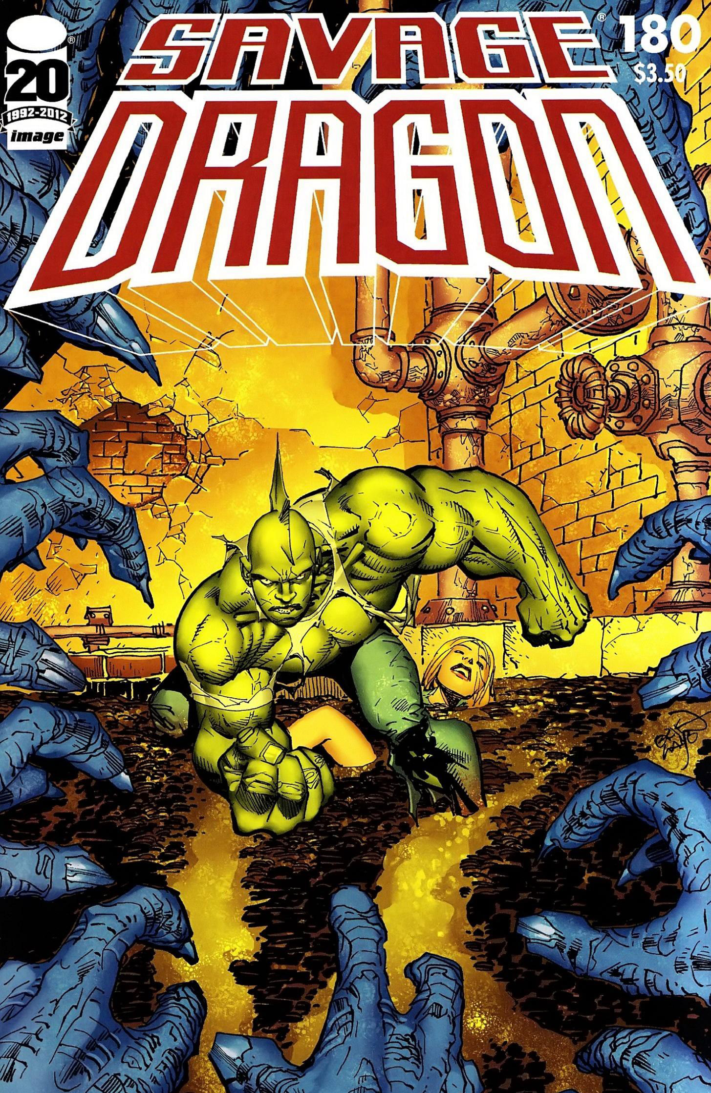 Cover Savage Dragon Vol.2 #180