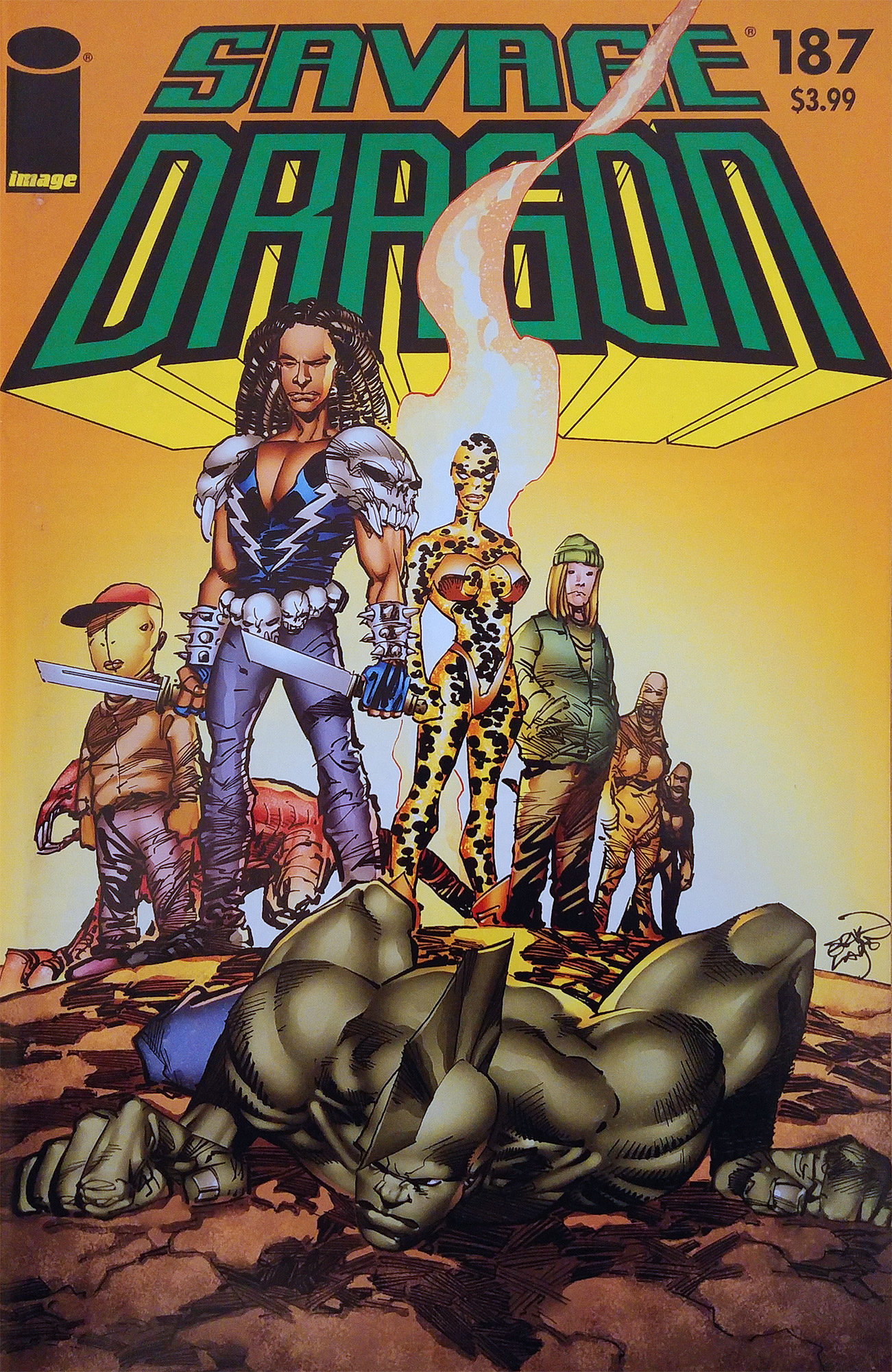 Cover Savage Dragon Vol.2 #187