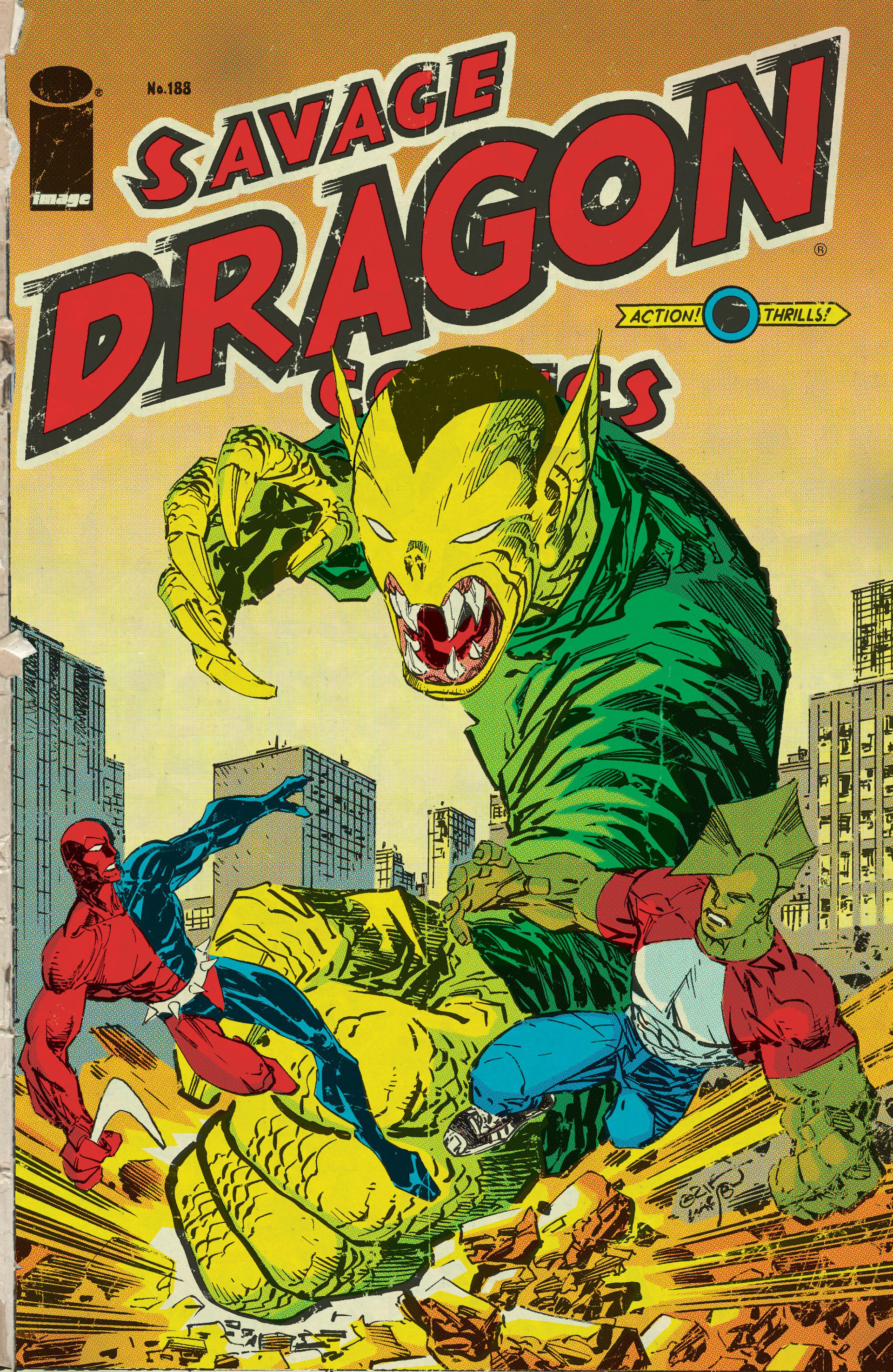 Cover Savage Dragon Vol.2 #188